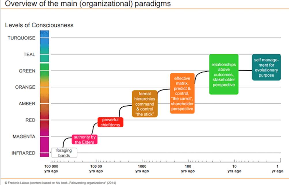organisational paradigm - reinventing organisations