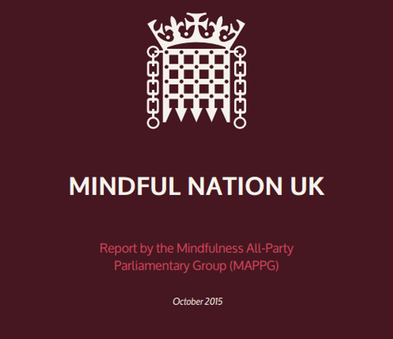 Mindful nation UK 2015 report