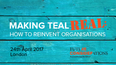 Teal Organisations overview workshop, July 2017