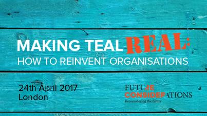 Teal Organisations overview workshop, July 2017