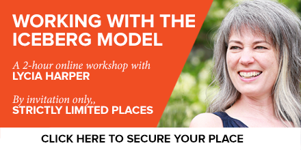 Iceberg Model workshop with Lycia Harper Future Considerations